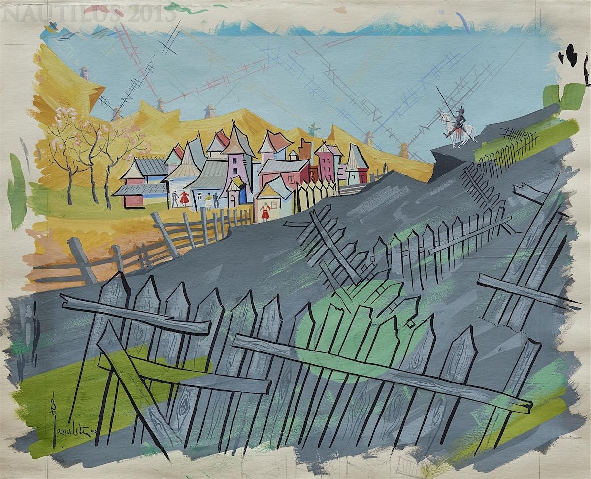 Don Kichot na wzgórzu, 1960