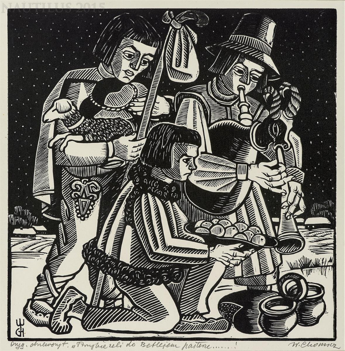 Pastorałka I - Przybieżeli do Betlejem pasterz..., 1931
