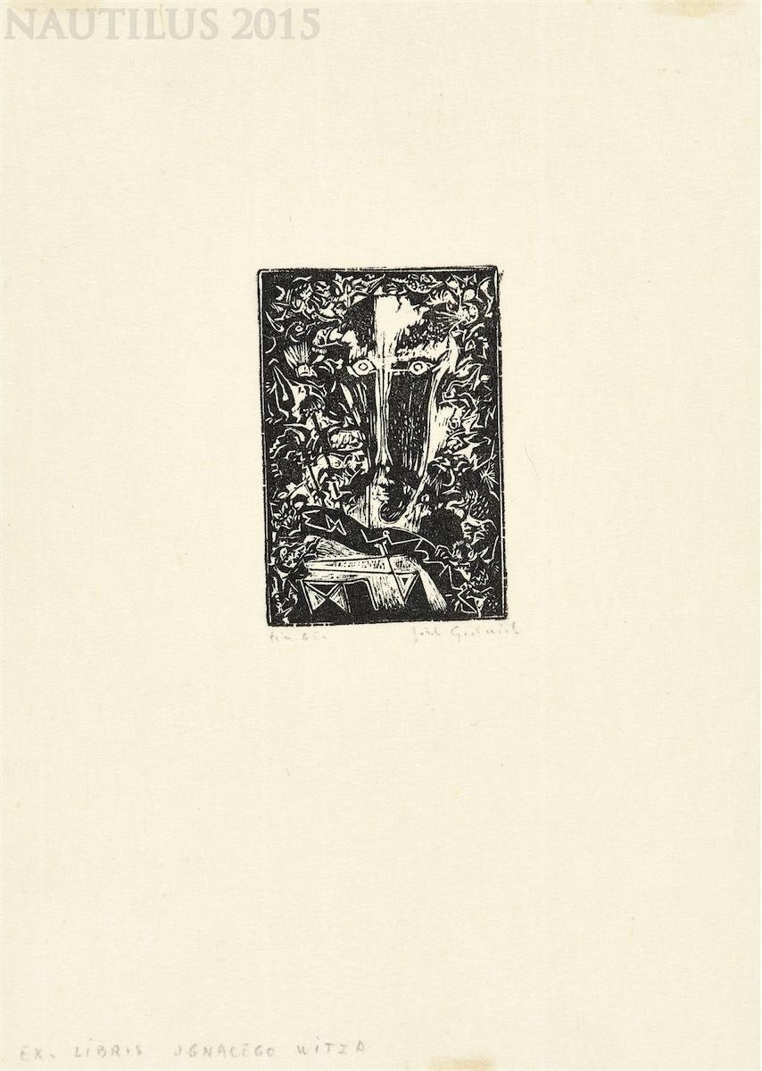 Ekslibris Ignacego Witza, 1965