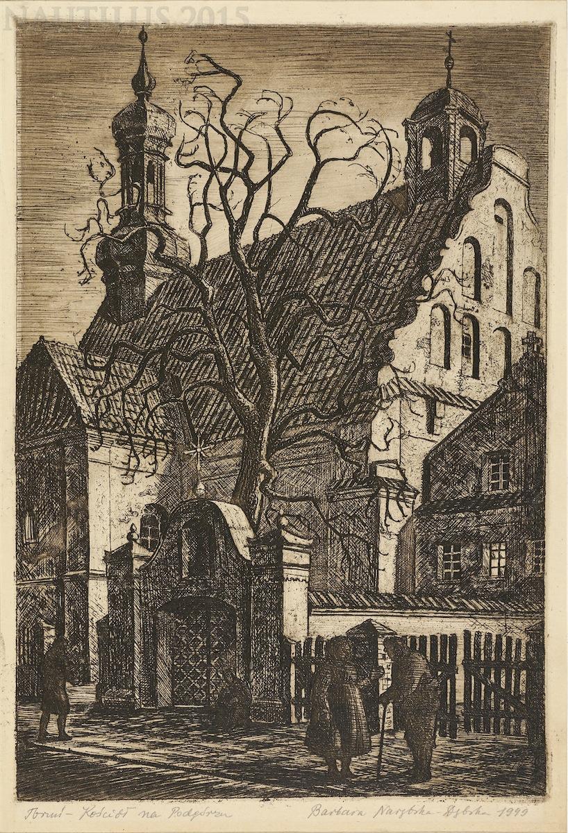 Toruń. Kościół na Podgórzu, 1949