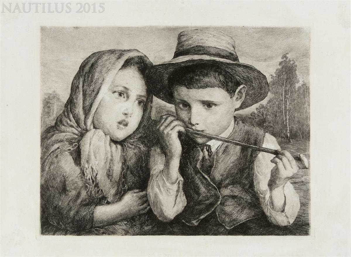 Dzieci artysty, ok. 1915