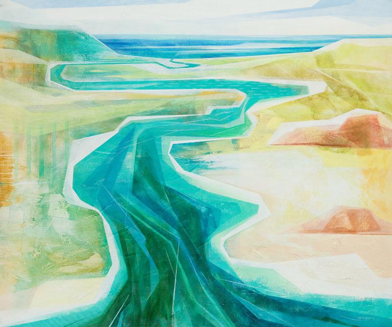 Waterland XXXV-Rivers, 2014 r.