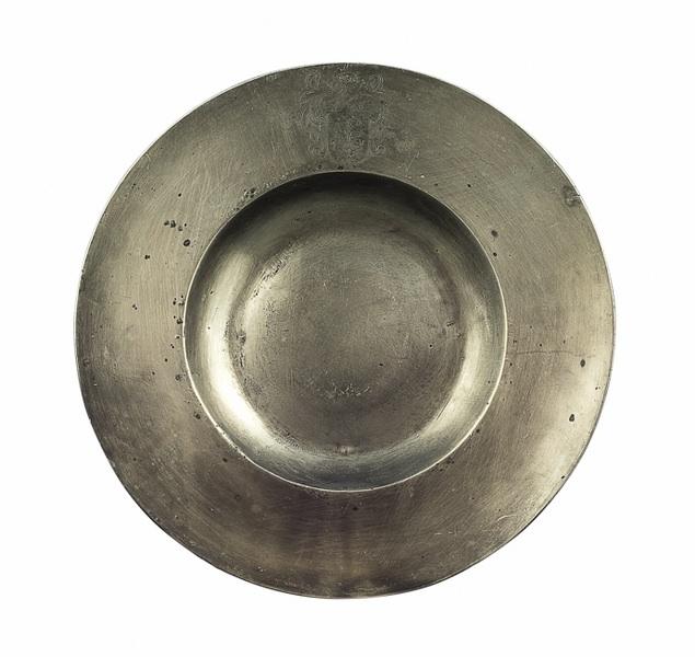 Misa cynowa (A Dutch Pewter Dish),
