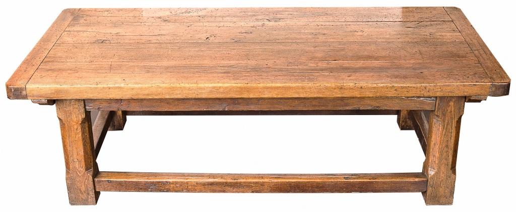 Stół orzechowy (An Italian walnut low table)