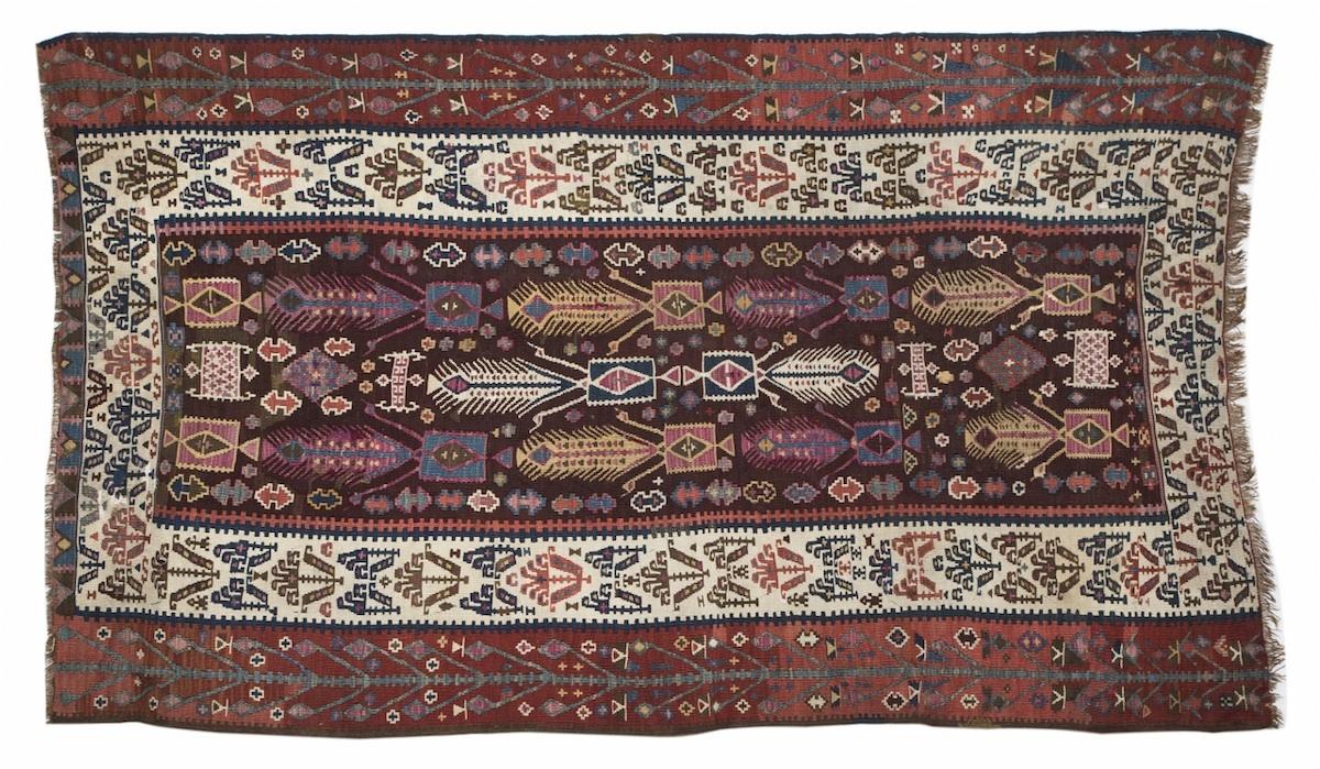 Dywan kaukaski (A Kazak rug)