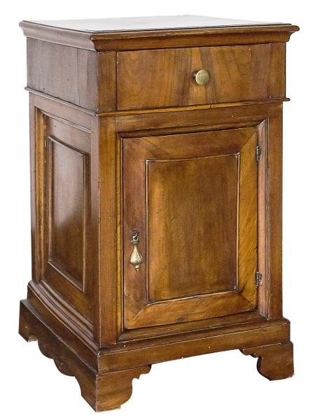 Szafka nocna (An english mahogany bedside table)