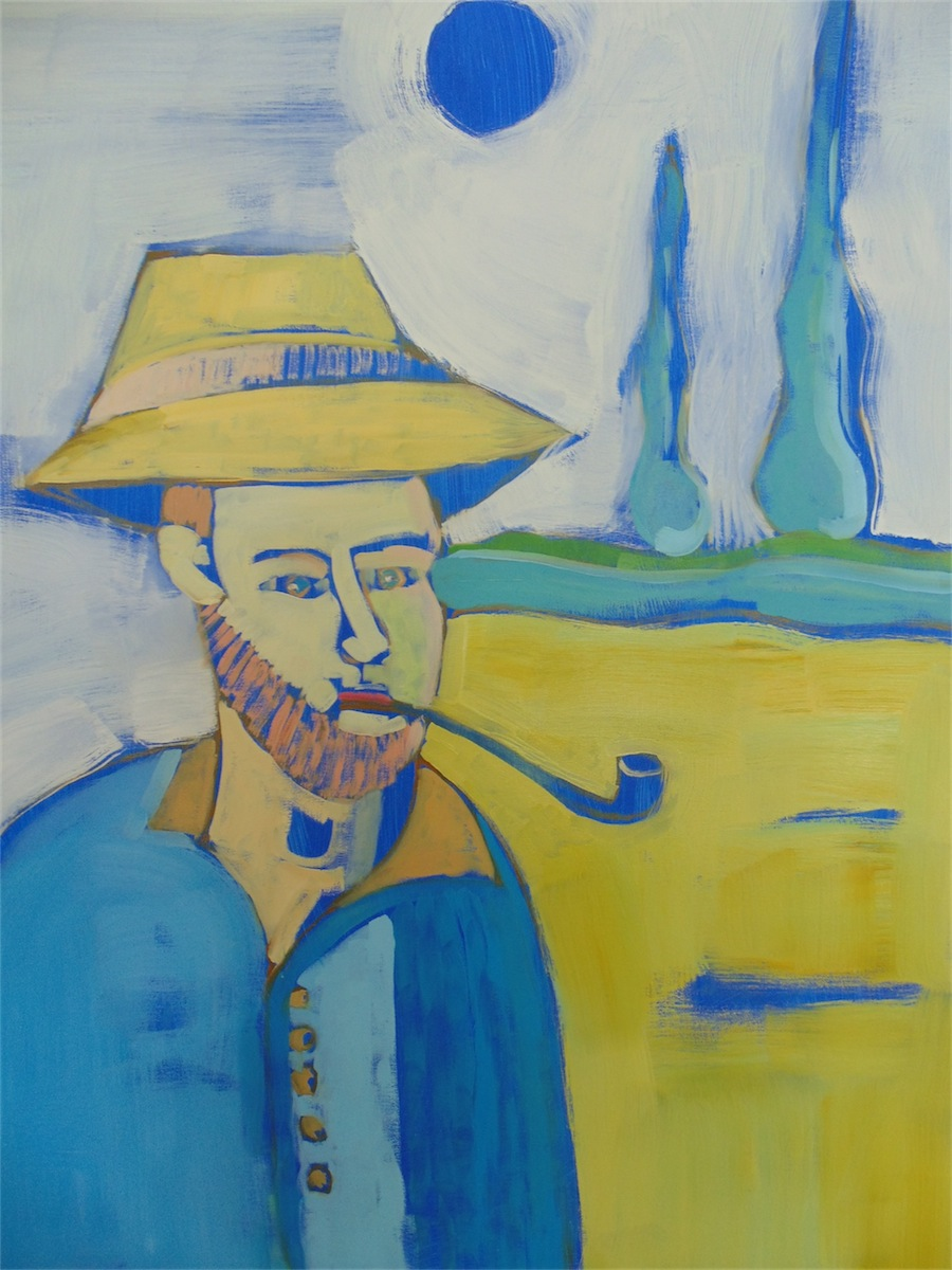 Fajka Van Gogha, 2014
