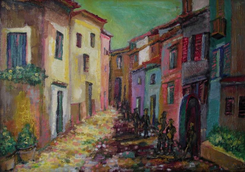 Hiszpańska uliczka, 2014
