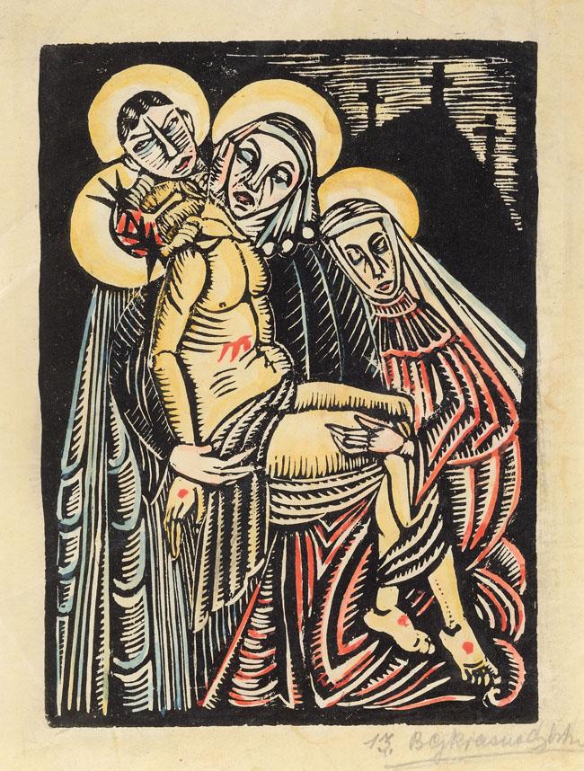 OPŁAKIWANIE CHRYSTUSA, 1923