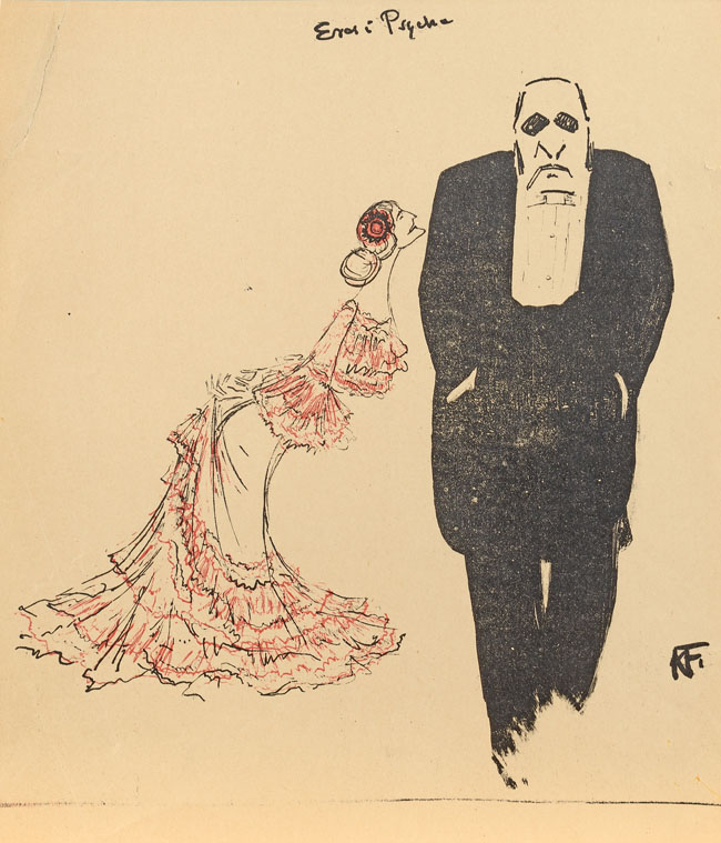 EROS i PSYCHE, 1904