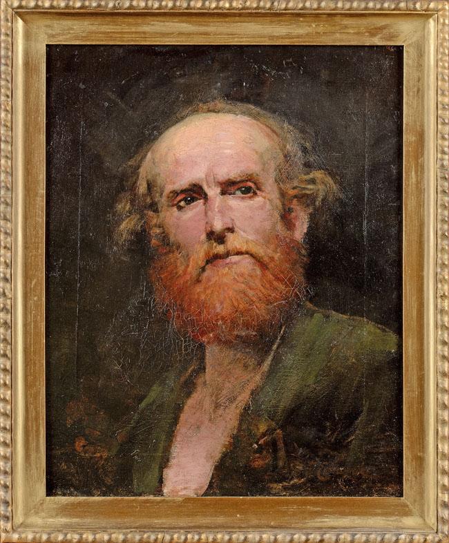 PORTRET MĘSKI, koniec XIX w.