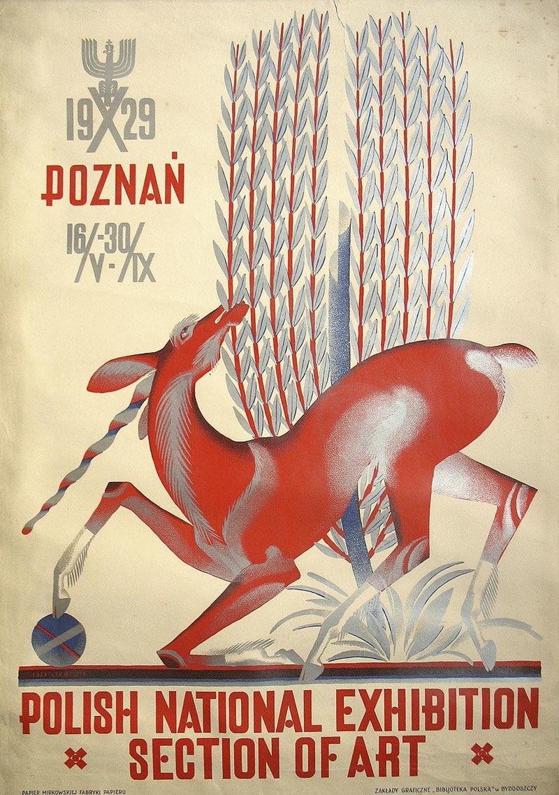 Dział Sztuki na Powszechnej Wystawie Krajowej. Poznań 1929 r.