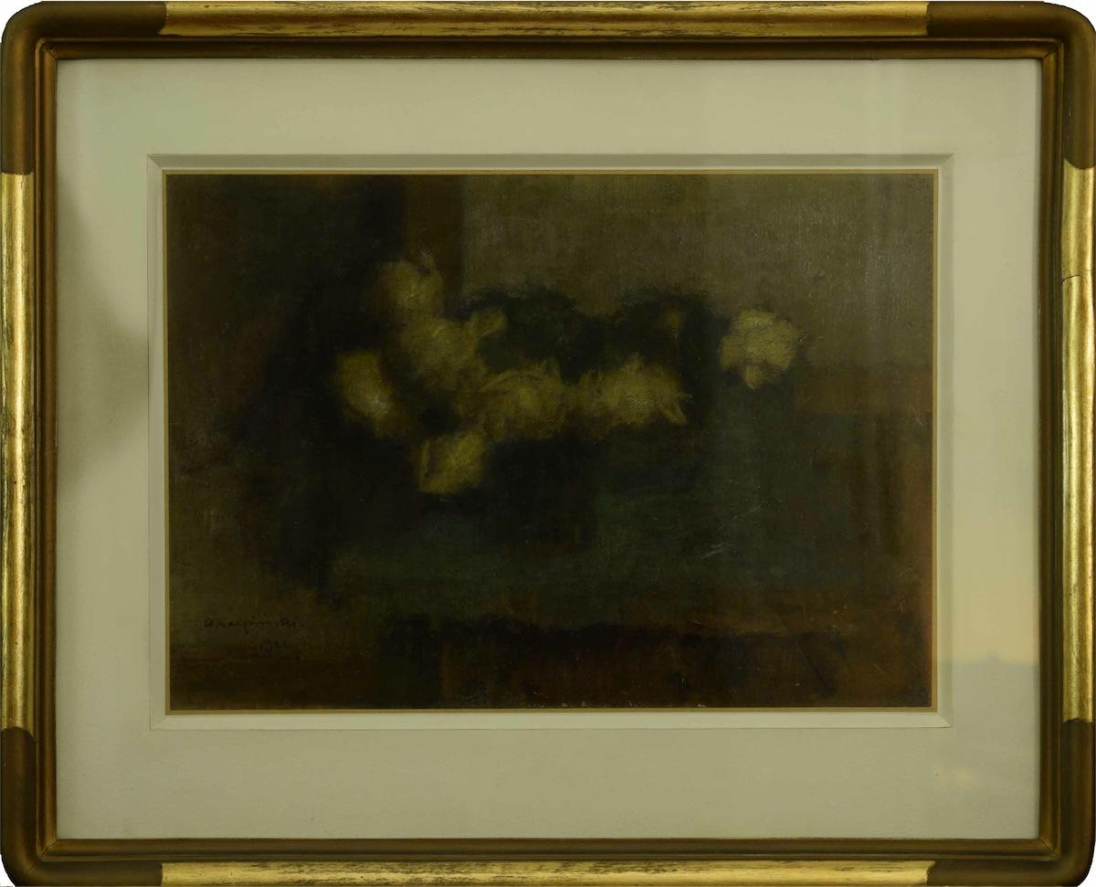 Róże o zmroku, 1921