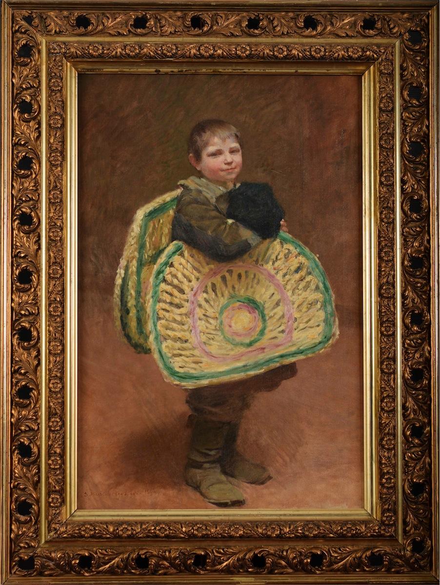 Chłopiec roznoszący macę, 1896