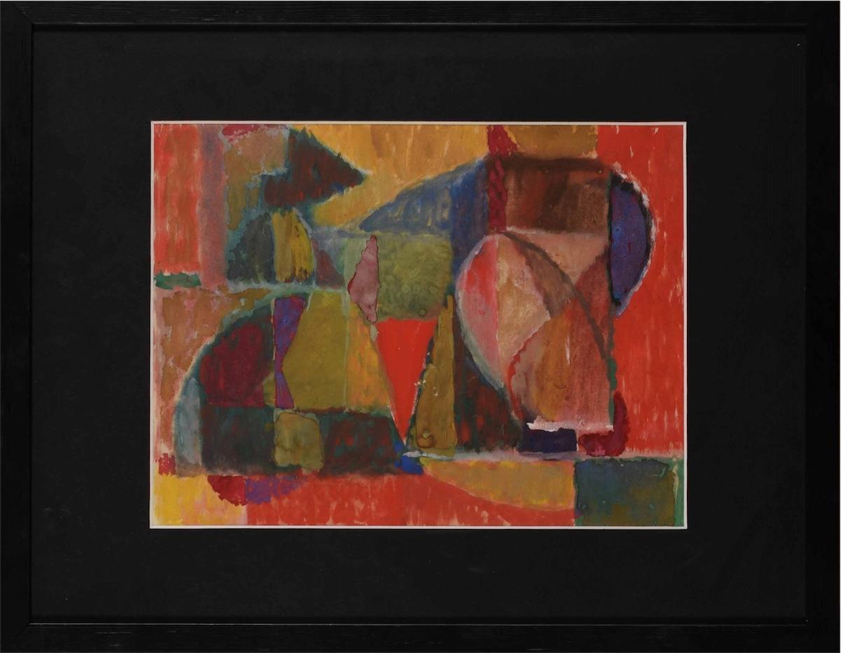 Kompozycja abstrakcyjna, ok. 1950
