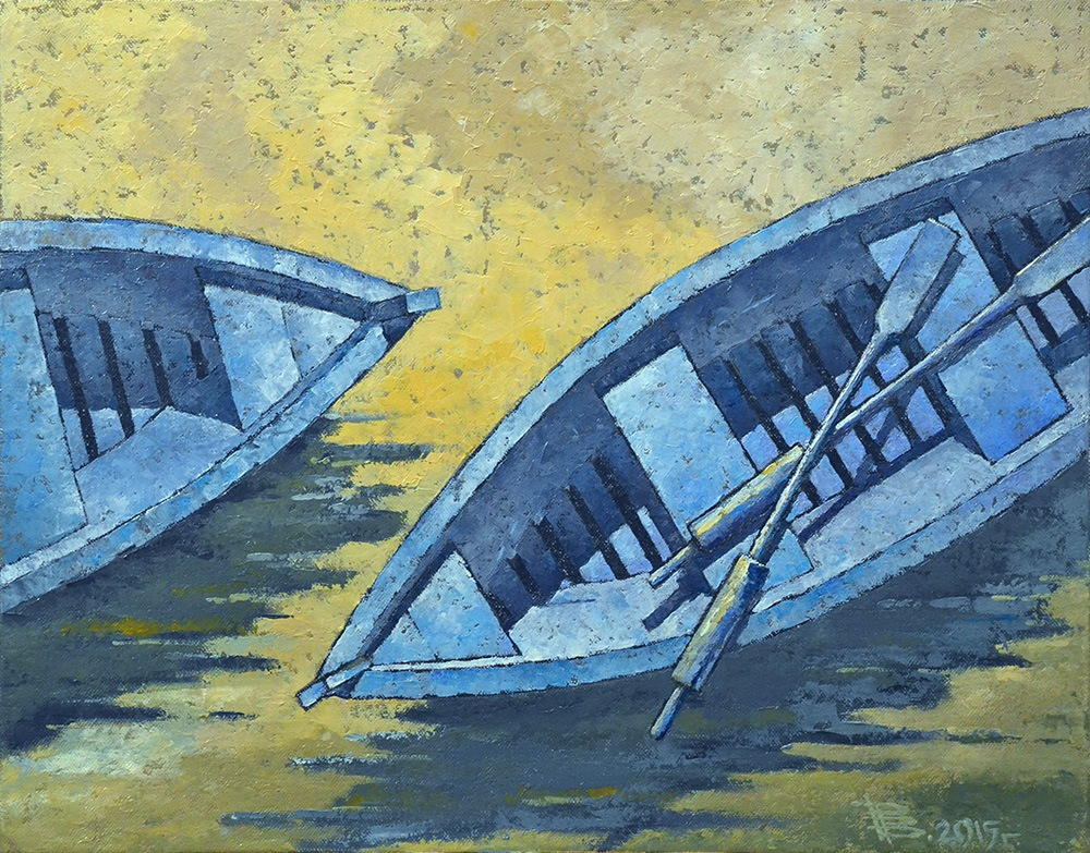Two Boats, 2015