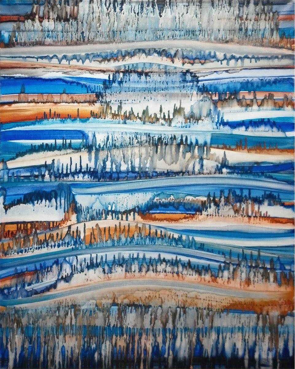 Dripping Landscape IV, 2015