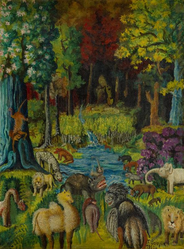 Rajski ogród, 1960 r.