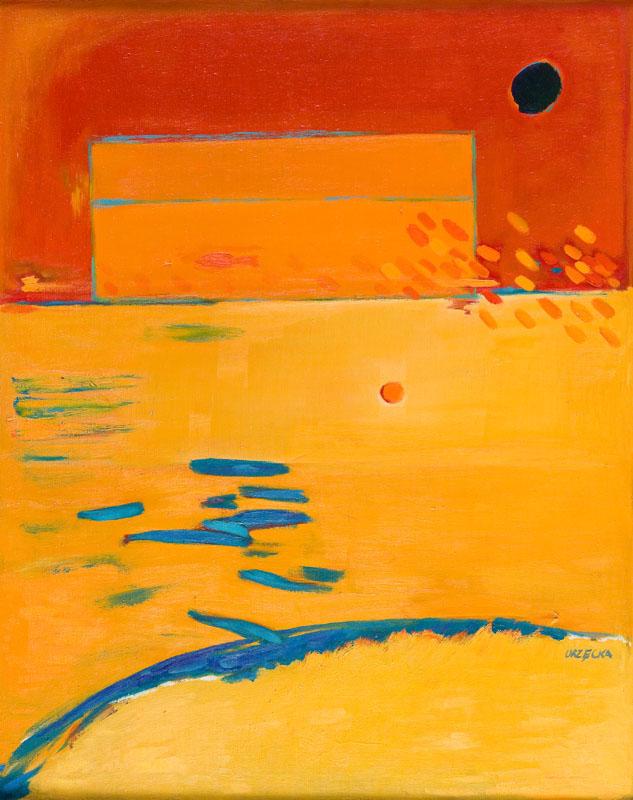 Pejzaż czerwony, 1998 r.