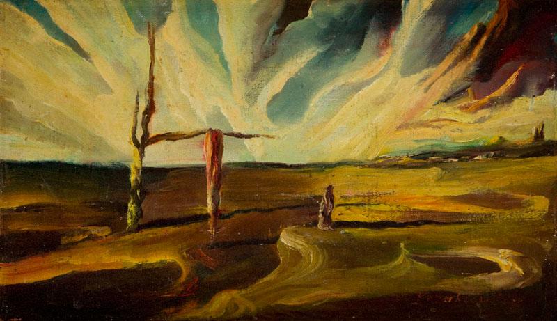 Kompozycja surrealistyczna, 1975 r.