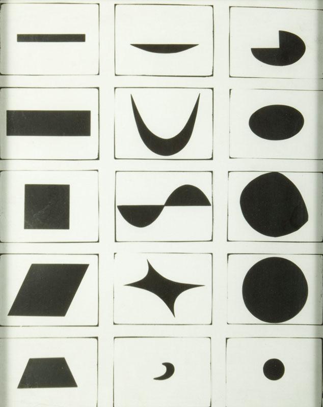Kompozycja fotogram, 1982 r.