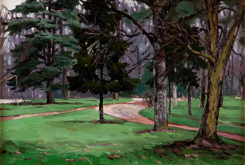 Wnętrze parku