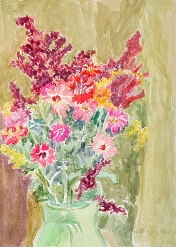 Bukiet polnych kwiatów, 2000 r.