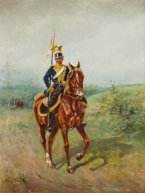 Szwoleżer, 1900 r.
