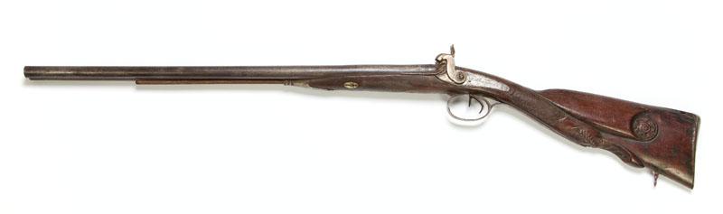 Strzelba dubeltowa, kapiszonowa, 1 poł. XIX w.