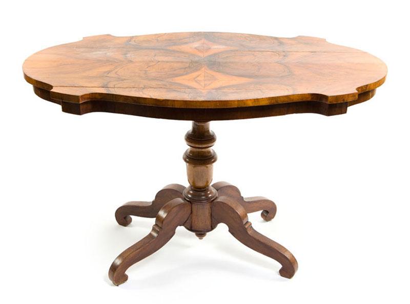 Stół w stylu Ludwika Filipa, 2 poł. XIX w.