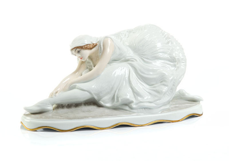 Figura -  `Umierający łabędź`, około 1920 r.