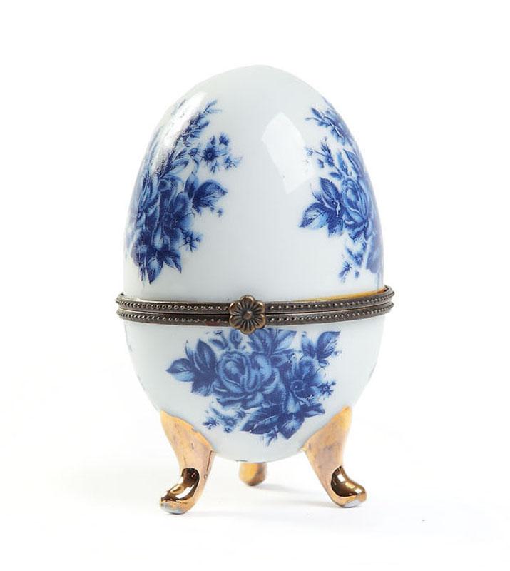 Puzderko w kształcie jajka, 2 poł. XX w.