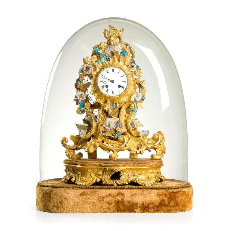 Zegar neorokokowy, 3 ćw. XIX w.
