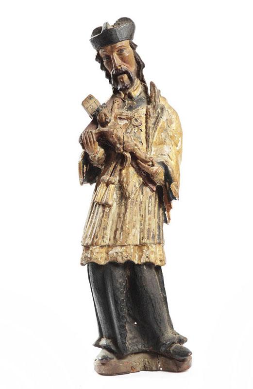 Figura - Św. Jan Nepomucen, XIX w.