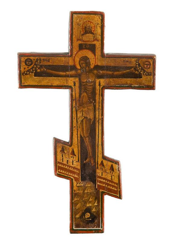 Krzyż prawosławny, XIX w.