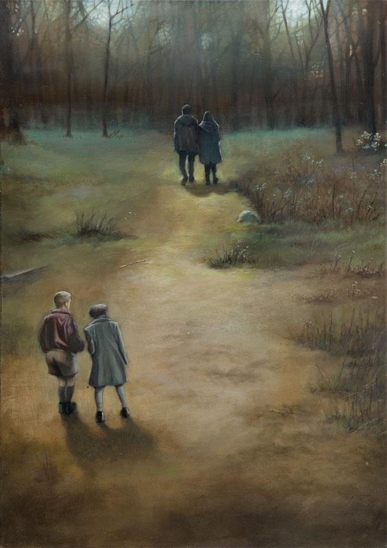 Dwóch przy lesie, 2015 r.