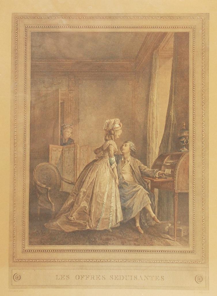 Czar uwodzenia - Les offres seduisantes, 1782