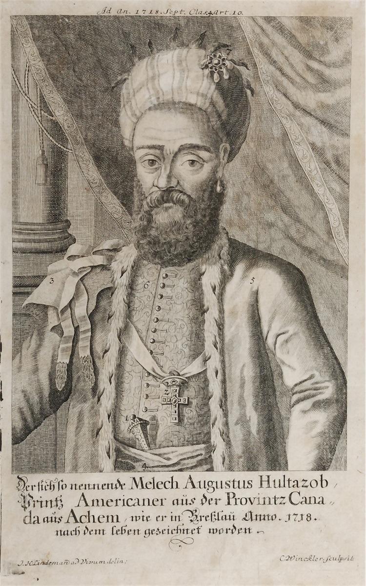 Indianin - Melech Augustus Hultazob