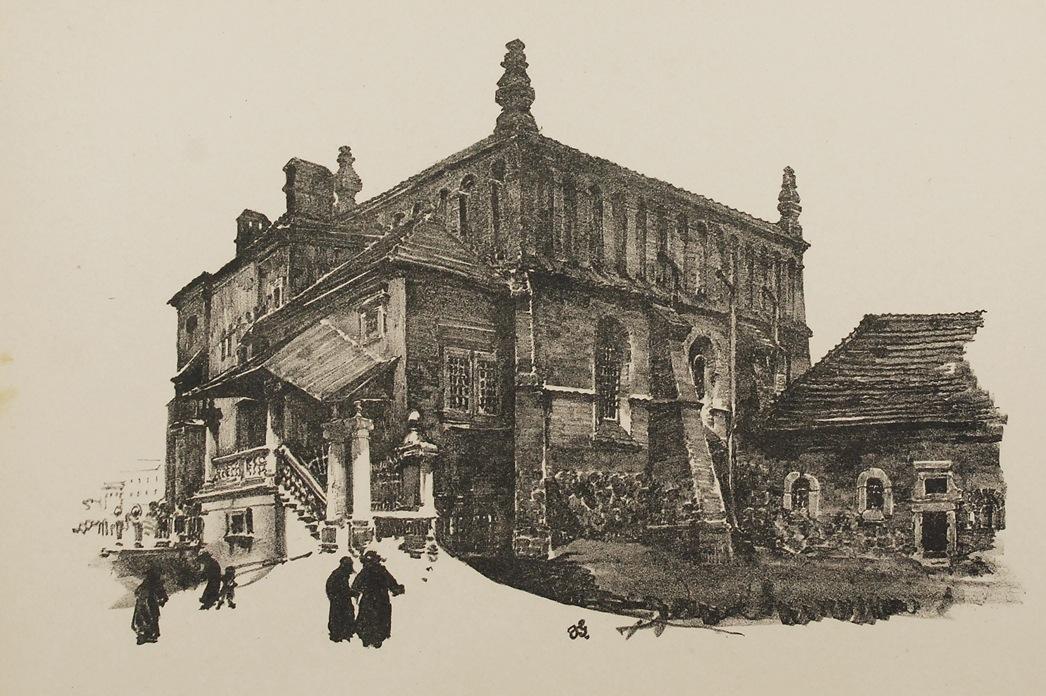 Widoki Krakowa - z teki Widoki Krakowa, 1926