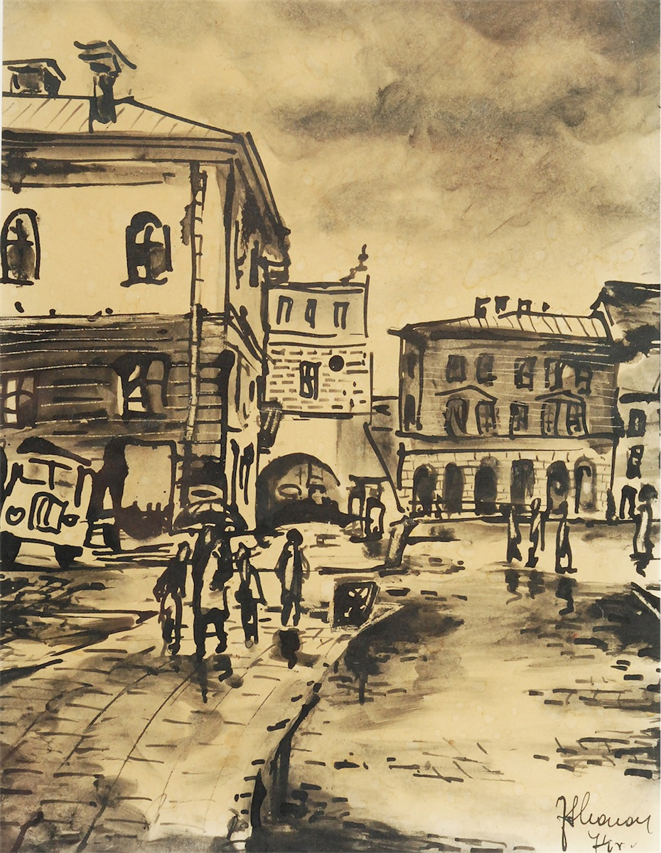 Mały Rynek w Krakowie, 1974?