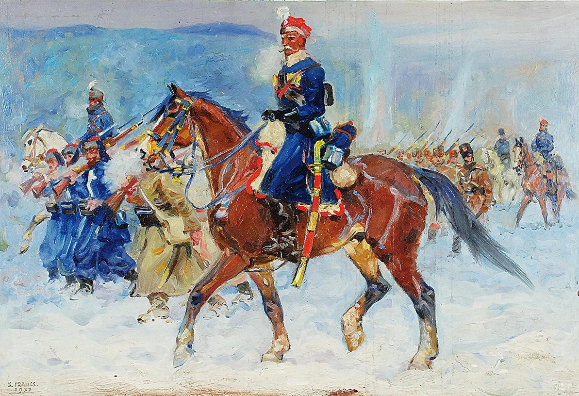 Przemarsz wojsk, 1922