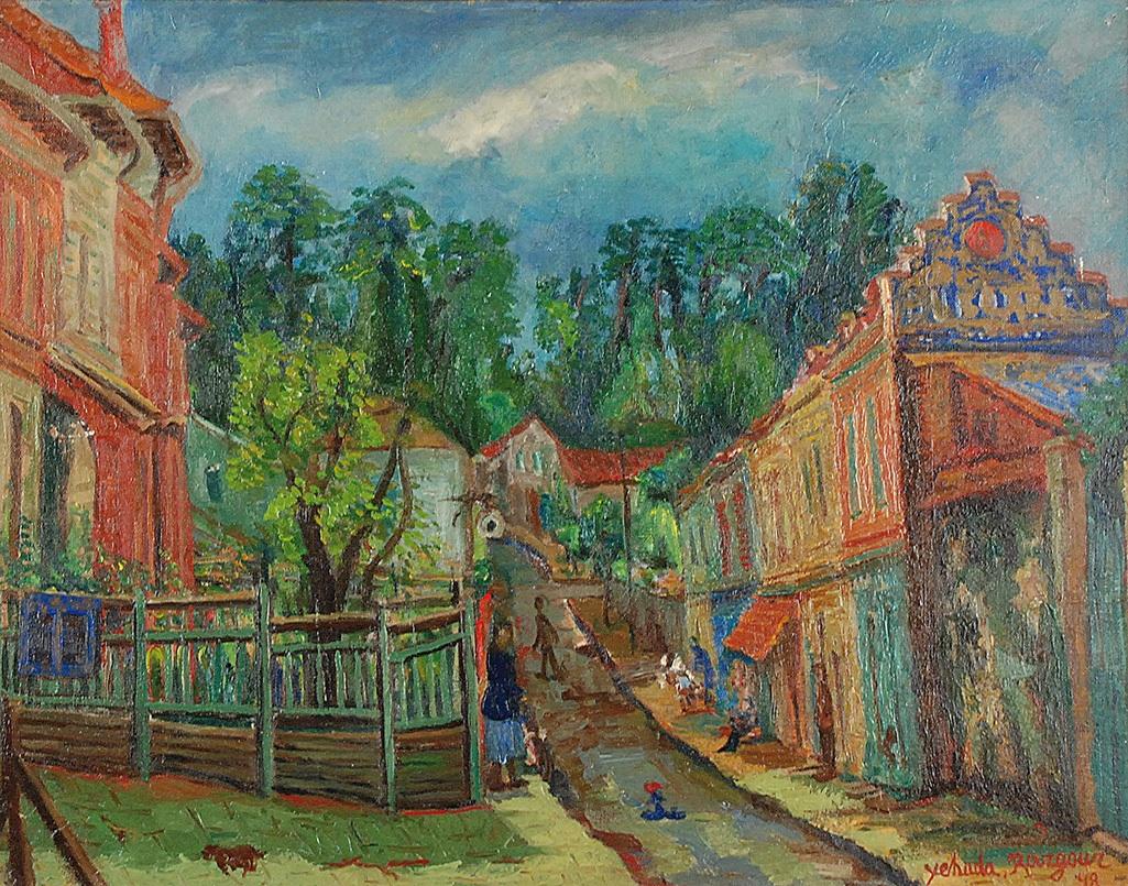 Motyw z małego miasteczka, 1948
