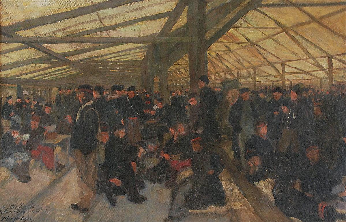 Obóz jeniecki w Hanowerze