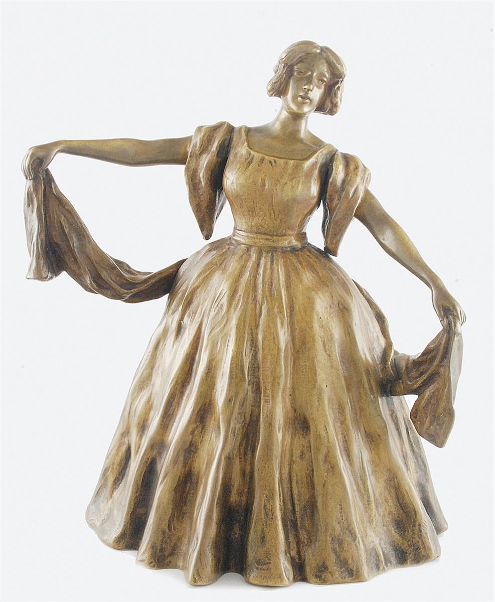 Kobieta w balowej sukni