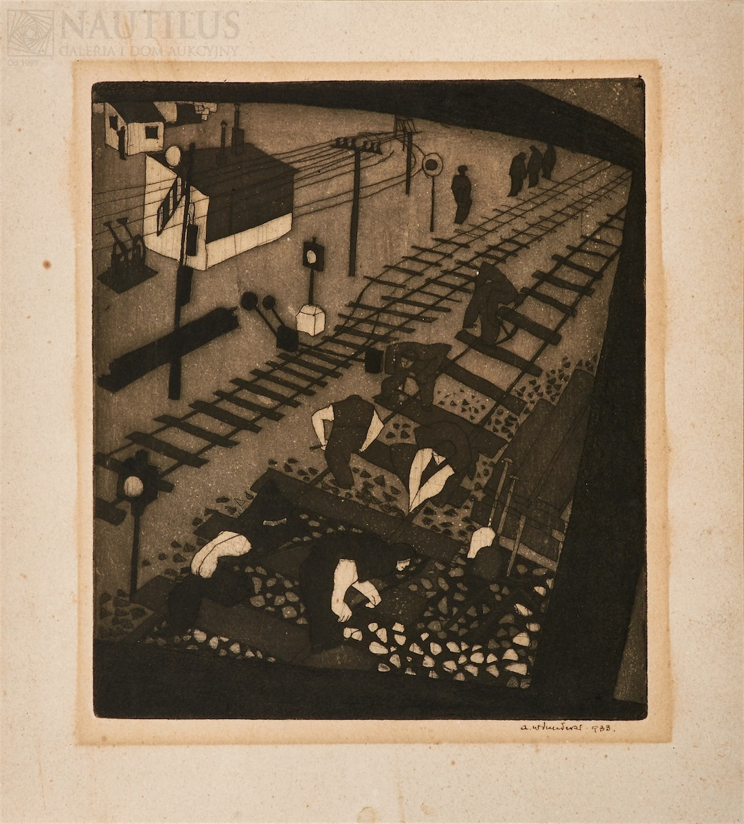 Roboty kolejowe, 1933