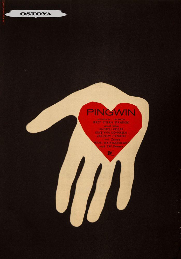 Plakat do filmu PINGWIN, 1964