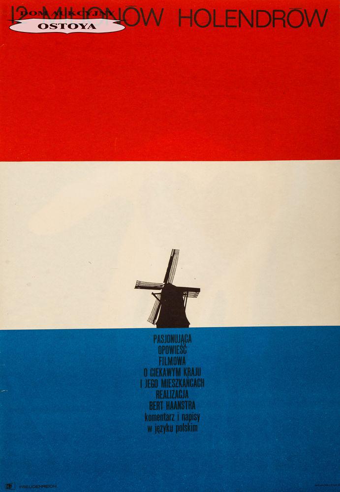 Plakat do filmu 12 MILIONÓW HOLENDRÓW, 1964