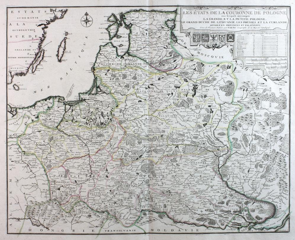 Les Estats de la Couronne de Pologne