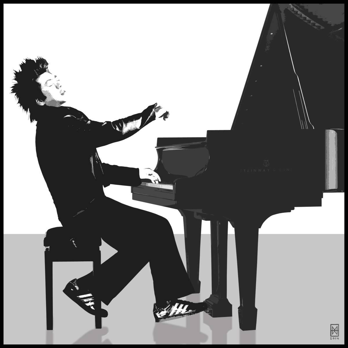 Pianista (portret Lang Langa), 2014
