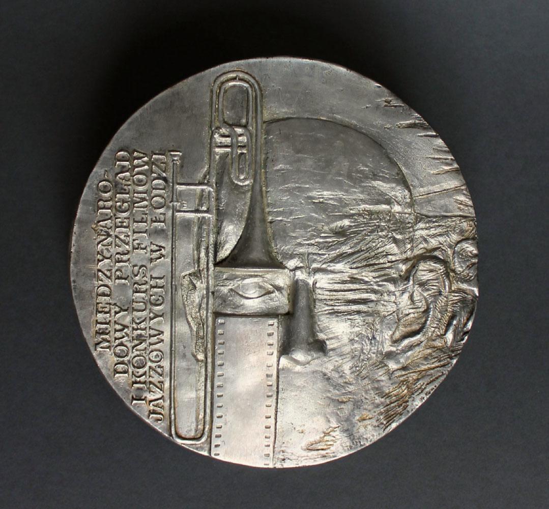 Medal Międzynarodowego Przeglądu i Konkursu Filmów Jazzowych w Łodzi